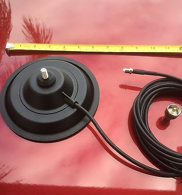Strong Magnetic Antenna Base With 5/16 Antenna Stud Uhf Cb & Ham Radio