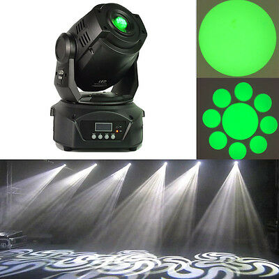 Hot sell 2pcs 90W LED moving head light gobos double prism for dj stage