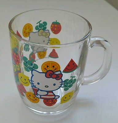 Hello Kitty Glass Cup