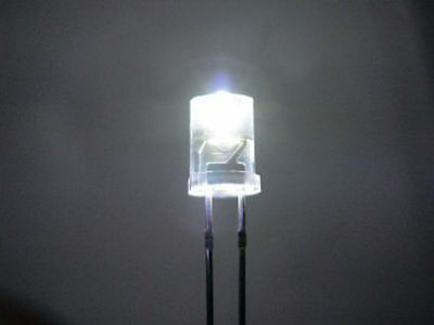 20 White 5Mm Inverted Cone Leds Light S Scale Buildings
