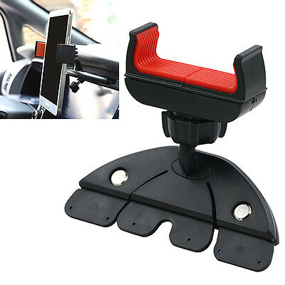 360° Handy CD Slot Car Mount Holder Stand for iPhone Samsung Smart Phone GPS AB