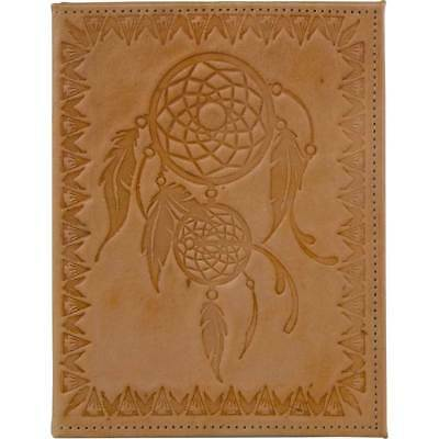 Dreamcatcher Leather Journal with Refillable Lined Pages