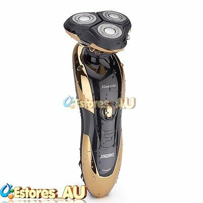 【AU】New Rotary 3D Rechargeable Washable Men's Cordless Electric Shaver Razor