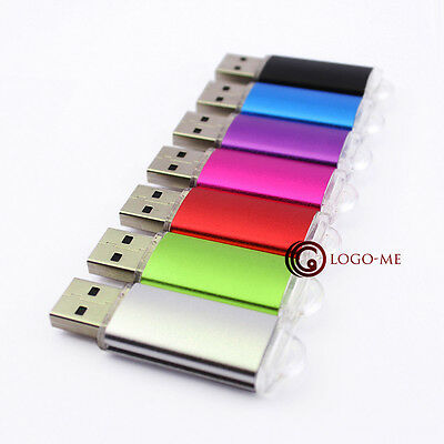 Light USB Flash Memory Drive 2GB 2G 2 G 100PCS Thumb Stick Pen Drives Best Gift