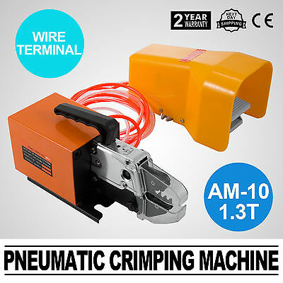 Pneumatic Wire Terminal Mobile Crimping Machine Cylinder Replaced Crimper Tool