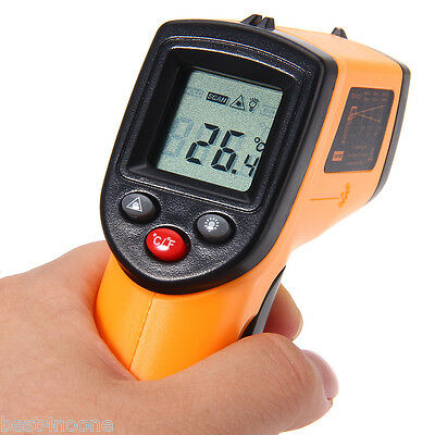 GM320 Non-contact IR Laser Infrared LCD Gun Thermometer Temperature Meter Tester