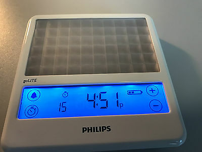 Philips goLITE BLU rechargeable energy light therapy HF3330/01 TIM FERRISS OFFER