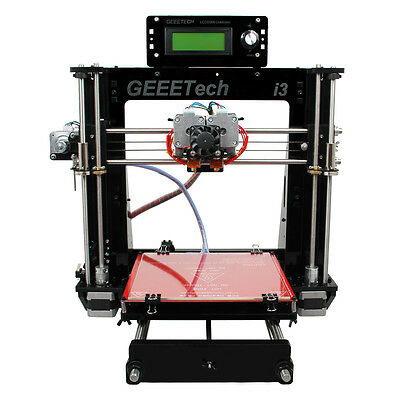 Geeetech Prusa I3 Pro C Dual Extruder 3D Printer GT2560 MK8  shipped from AU