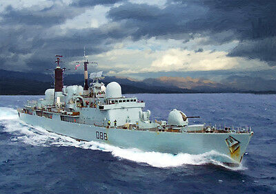Hms Glasgow - Hand Finished, Limited Edition (25)