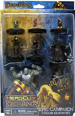 Heroclix The Lord of the Rings set 8-figure Starter Set SEALED!