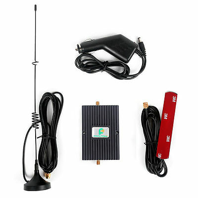 GSM 850/1900MHz Cell Phone Signal Booster 45dB Repeater Amplifier Kit for Car/RV