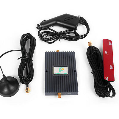 Mobile Signal Booster Repeater Amplifier Kit 850/1700MHz for Car/RV/Truck Use