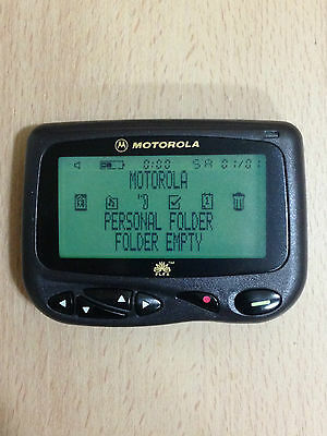 Motorola Cp1250 8 Line Display Alphanumeric Flex Pager