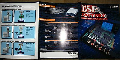 Yamaha DSP Factory the DS2416 Digital Mixing Card brochure