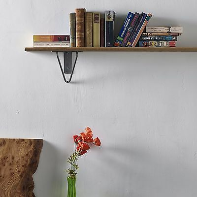 2 x Hairpin Shelving Brackets / Shelf Supports