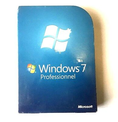 Microsoft Windows  7 Professional French  DVD FQC-00202 1PC 32/64-bit NEW Sealed