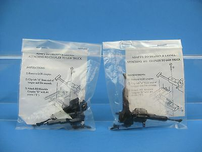 USA Trains/RO G-Scale Knuckle Coupler Adapt to Delton Lionel LGB Truck - Qty 4