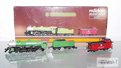 Märklin 88811, USA Steam locomotive Mikado with Caboose Caboose for track Z