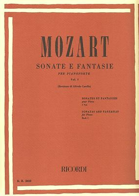 RICORDI Sonate E Fantasie per Pianoforte Volume I