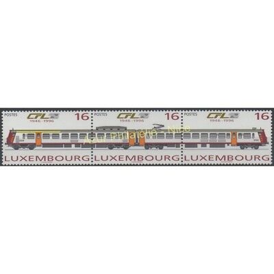 Luxembourg - 1996 - No 1335/1337 - Trains