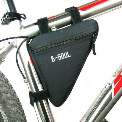 4 Colors Waterproof Triangle Cycling Bicycle Bags Front Tube Frame Bag Mountain