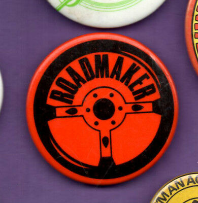 Roadmaker Toy - Button badge 1980's