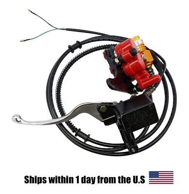 Front Hydraulic Brake Assembly for Gator 150cc scooter Moped GY6