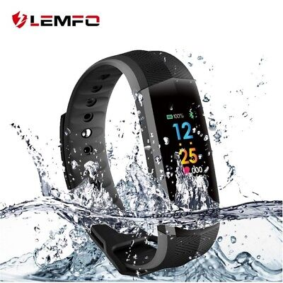 Lemfo Smart Watch Podómetro Pulsera Inteligente Heart Rate Para Samsung IOS