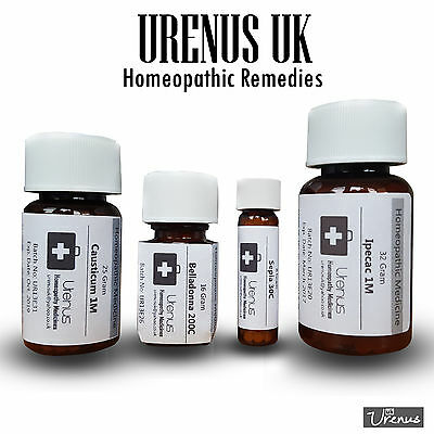 Homeopathy/ Homeopathic remedy/medicine 200 and 1M/ 8 gram