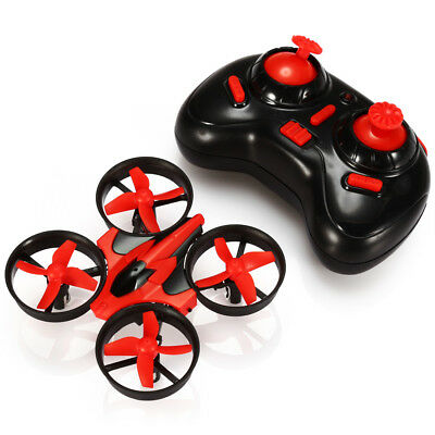 Genuine NIHUI NH-010 2.4G 6CH 6 Axis Gyro Mini RC Quadcopter UFO One Key Return