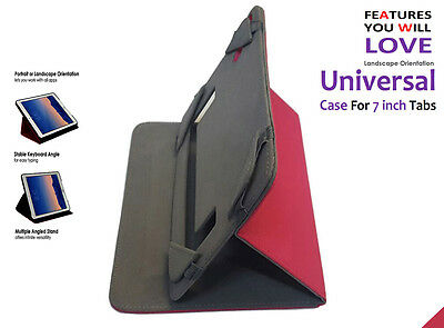 """Premier Quality Universal Foldable Stand Case for Huawei MediaPad T2 7"""" Pro"""
