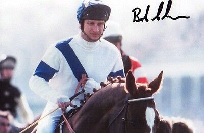"horse racing Bob Champion signed 6"" x 4"" photograph"