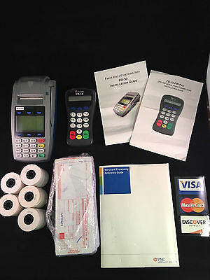 First Data FD50 Credit Card Terminal w/ FD-10 Pin Pad and MORE!