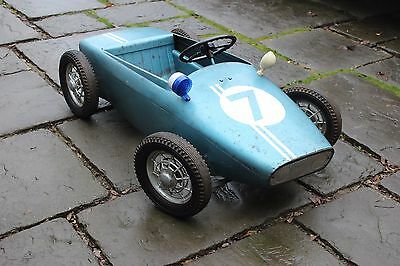 Morellet Guerineau Lotus F1 Pedal car. 100% original. Extremely rare like this.