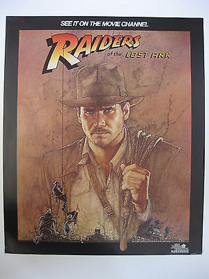 """ Raiders of the Lost Ark""/ Commercial Movie Poster"