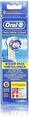 Oral-B Precision Clean Aufsteckbürsten, 6er pack -Original