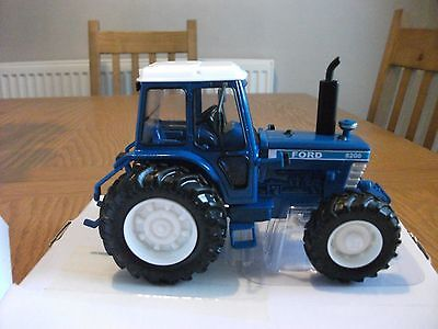 BRITAINS  1;32  FORD 8200  TRACTOR CONVERSION  NEW  BOXED+choose number plate