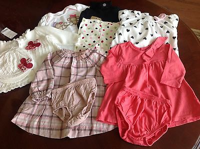 Lot Of Gymboree, Old Navy and Baby Gap Girl Clothes Size 3-6 months