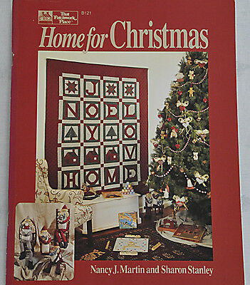 Livre Patchwork HOME FOR CHRISTMAS Nancy J Martin That Patchwork Place