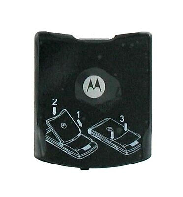 OEM Motorola Battery Door for Motorola RAZR V3i, V3t - Black