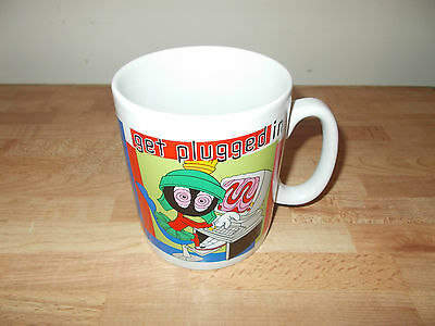 """Marvin The Martian 5"""" Warner Brothers Exclusive Cup Get Plugged In"""