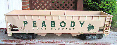 American Flyer #24230 PEABODY COAL HOPPER ...GREAT CONDITION CAR!