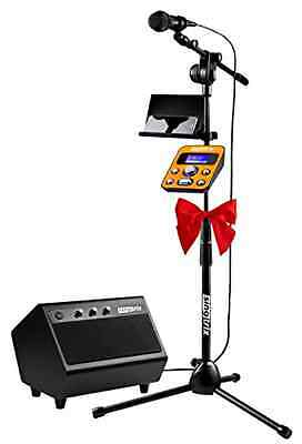 Singtrix Party Bundle Premium Edition Complete Musical Karaoke Home System, New