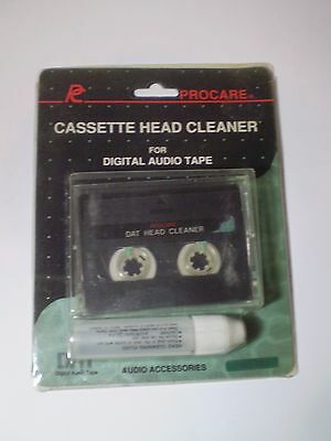 Procare Head Cleaner Wet/dry Type Cassette -Digital Audio  Tape Dat .sealed,nos.