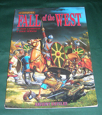 Warhammer Ancient Battles Historical supplement Fall of the West.