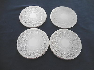 Strachan Australia Drink Coasters Heat & Cold Resistant Silver Plated As New