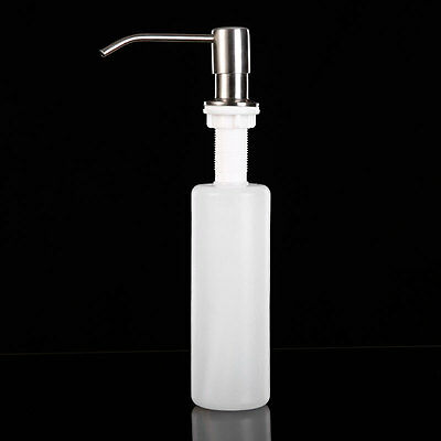 Convenient Stainless Steel Sink Soap Lotion Dispenser Head Kitchen Bathroom Tool