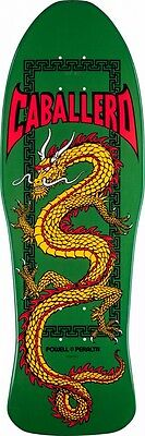 Powell Peralta Steve Caballero CHINESE DRAGON Skateboard Deck GREEN
