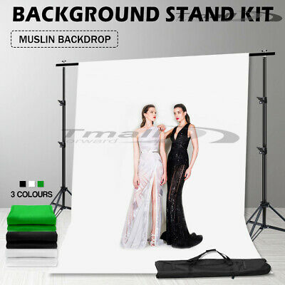 Photography Studio 1350W Continuous Lighting Softbox Soft Box Light Stand Kit-AU