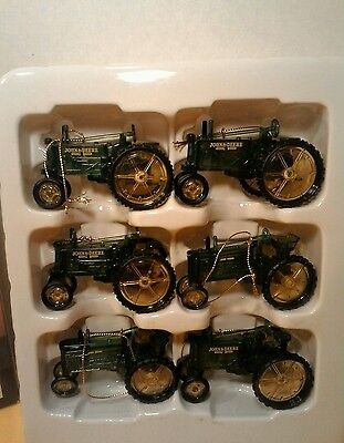 Special Edition  6 John Deere Decorative Ornaments, collectable